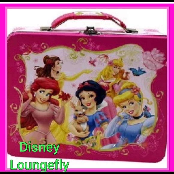 Disney embossed princess lunchbox/ case